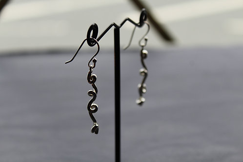 Silk Earrings