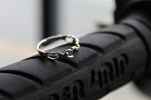 Cara Heart Ring
