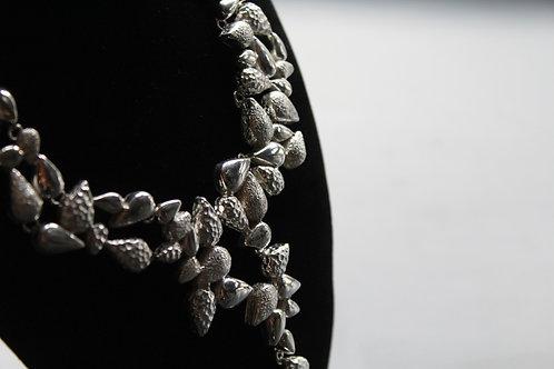 Textured Avocado Designer Necklace