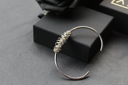 Designer Twisted Wire Cuff