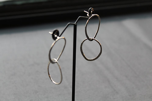 Designer Long Hoop Earrings