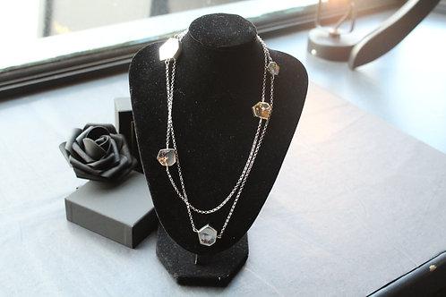 Designer Geometric Long Necklace