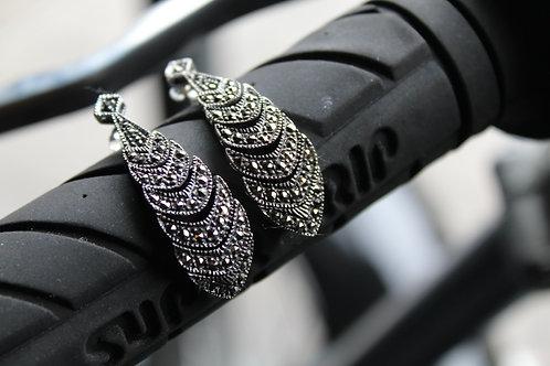 Marcasite Statement Earrings
