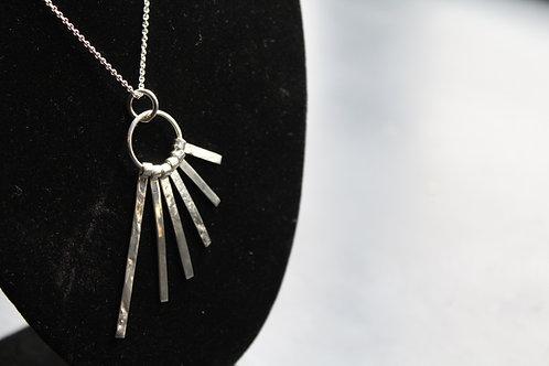 Designer Sparks Silver Single Pendant