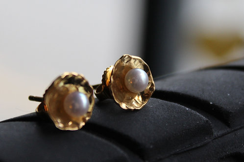 14ct Gold Filled Studs with Small Pearls