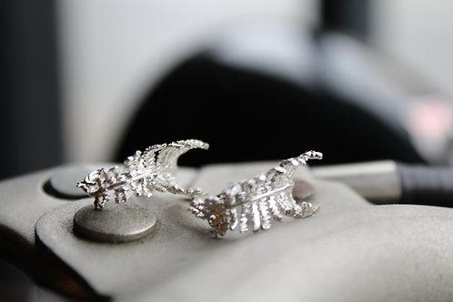 Unfurling Fern Earrings