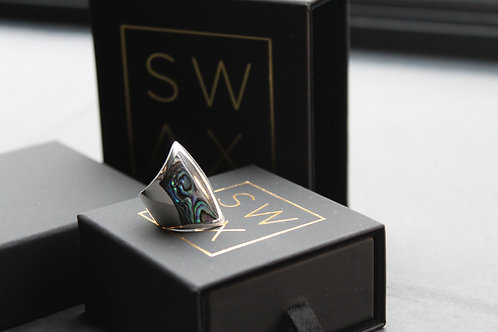 Safia Abalone Shell Ring