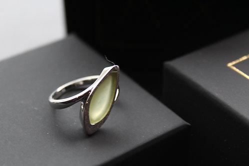 Jade Teardrop Ring