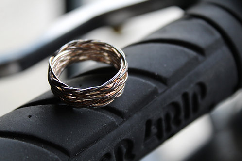 Silver Contemporary Wire Ring