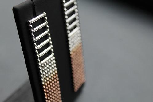 Large Art Deco Style Tassle Earrings