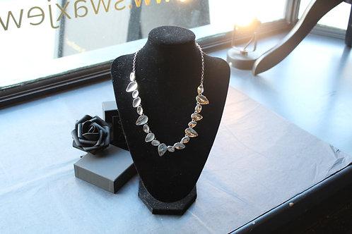 Designer Teardrop Polished Necklace