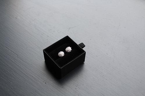 Sterling Silver 'Urchin' Earrings
