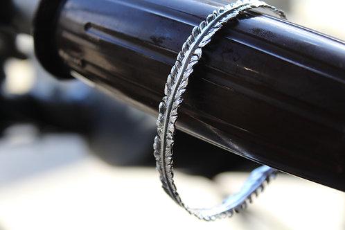 Sterling Silver Fern Bracelet