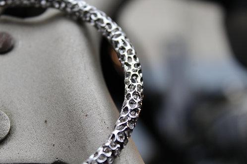 Silver Rattle Bangle