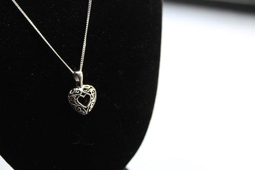 Allegra Heart Necklace