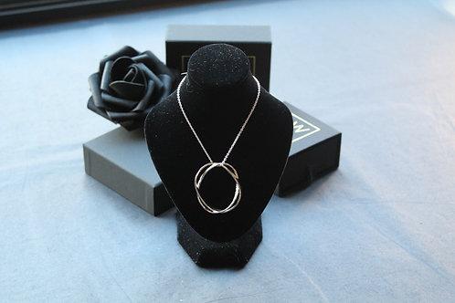 Designer Double Loop Necklace