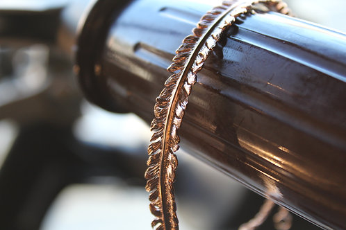 Fern Rose Gold Vermeil Cuff Bracelet