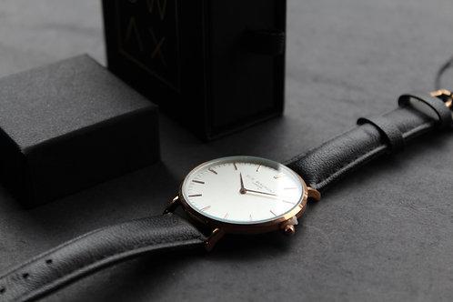 Elie Beaumont Oxford Large Watch Black Strap