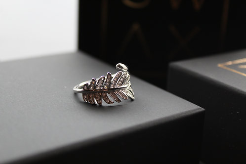 Crystal Fern Ring