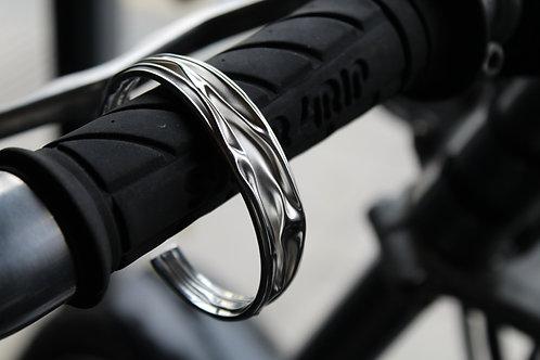 Sterling Silver Ruched Bracelet