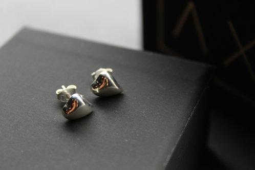Micro Heart Studs