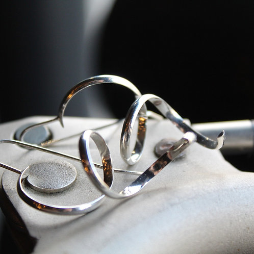 Silver Spring Earrings