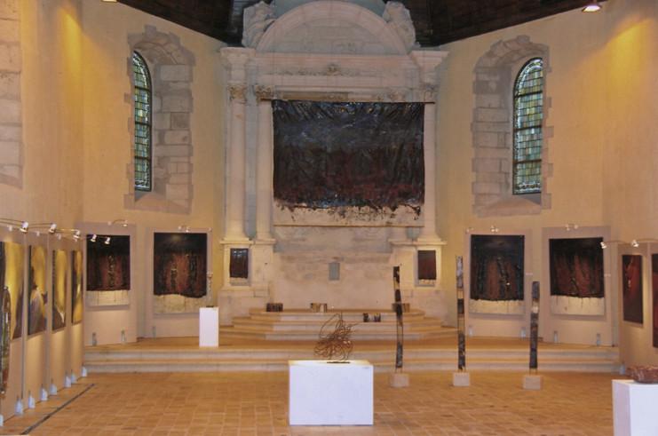 Exposition Traits Abstraits - église St Germain à Sully sur Loire
