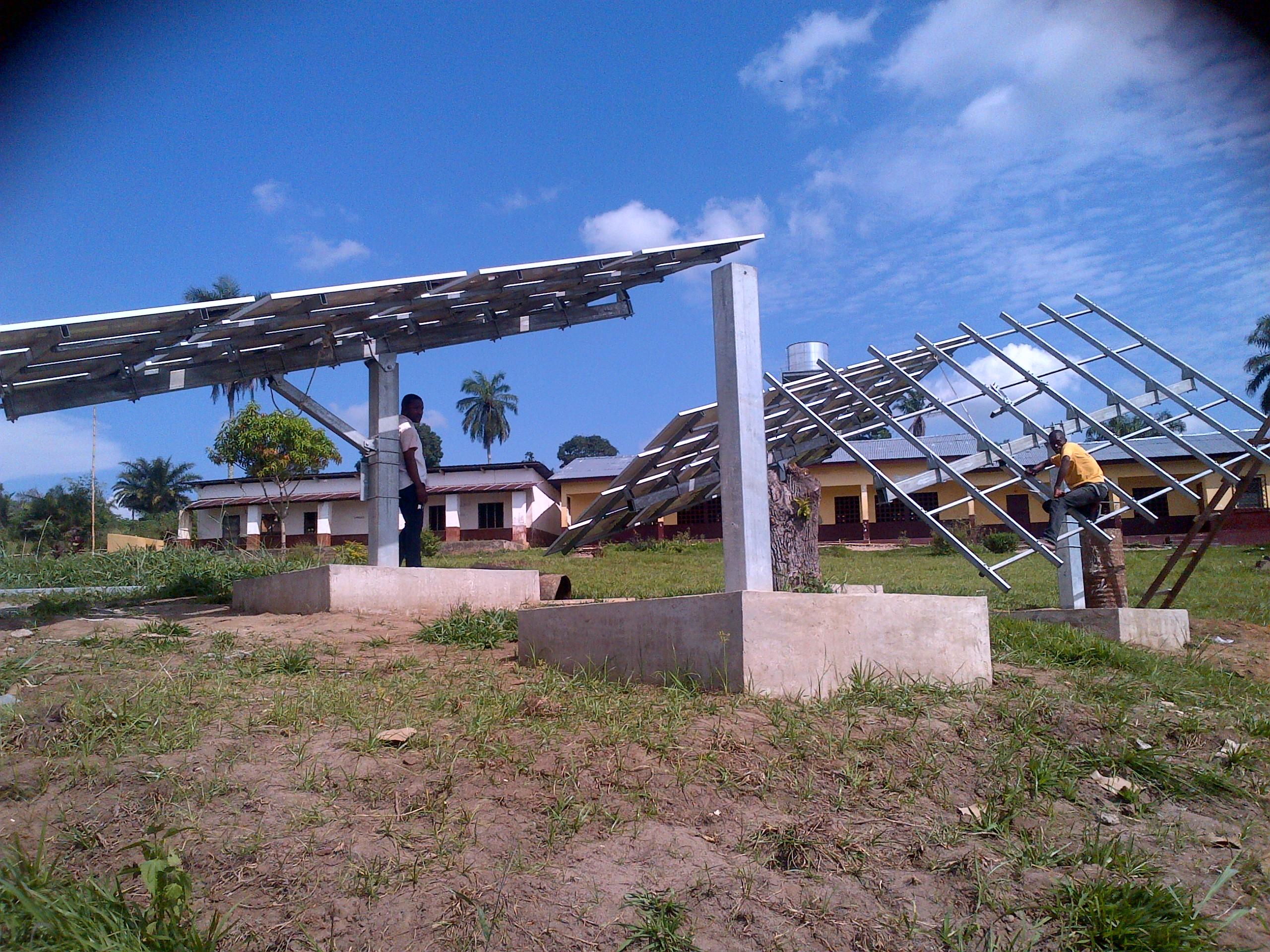 Solar water Pump - Congo