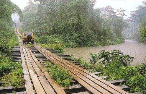 Dam | Barrage - Gabon