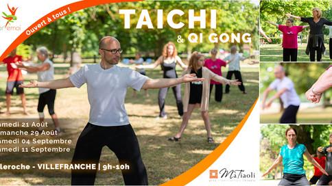 Tai Chi gratuit pour tous en fin d'été !