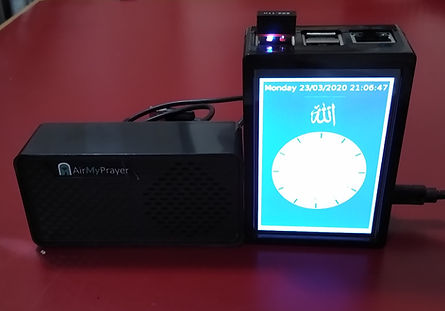 AirMasjid with speaker and screensaver.j