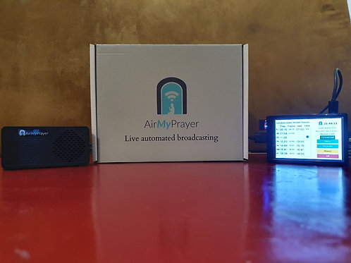 AirMyPrayer Home Broadcasting Device for Aylesbury Masjid