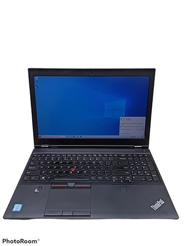 Lenovo Thinkpad P50 intel i7