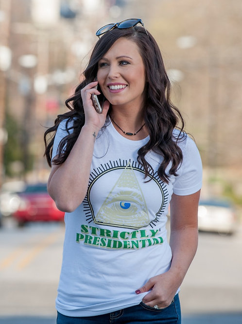 strictlyPresidential Women's White