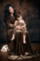 fotografia mamma e bambini ritratto