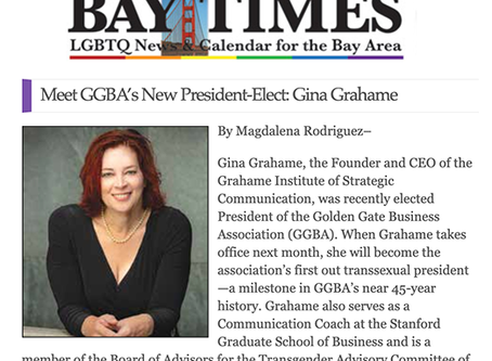 Meet Gina Grahame, the Golden Gate Business Association's new President-elect