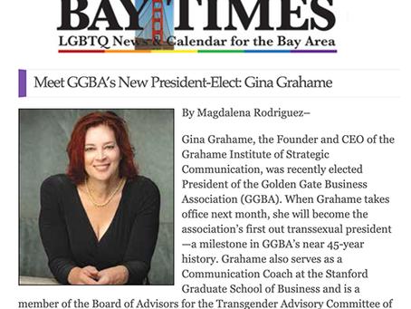 Meet Gina Grahame, the Golden Gate Business Association's new President-elect