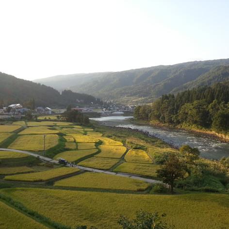 栄村小滝より