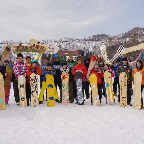 雪板イベント