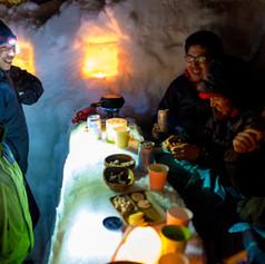 雪洞泊イベント