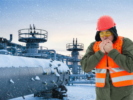 Risk assessment and outside work in cold weather