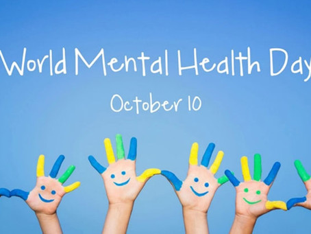 World Mental Health Day -               10th October 2020 - Join the campaign