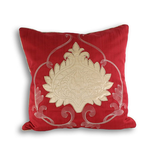 "Windermere"" Cushion Covers, Claret, 45 x 45 cm"