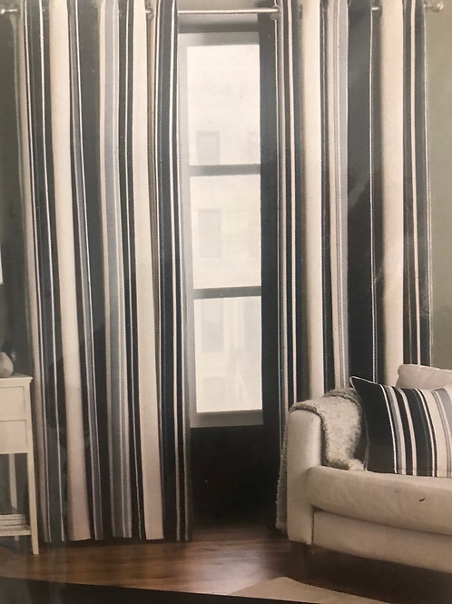 Broadway curtains with eyelet heading