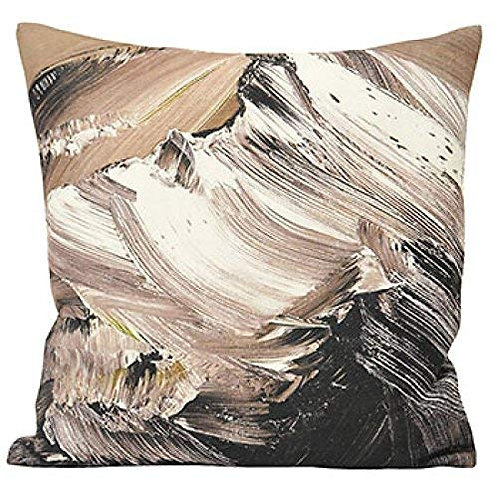 """Riva Paoletti """"Everest"""" Cushion Covers, Charcoal, 45 x 45 cm  by Riva Paoletti"""