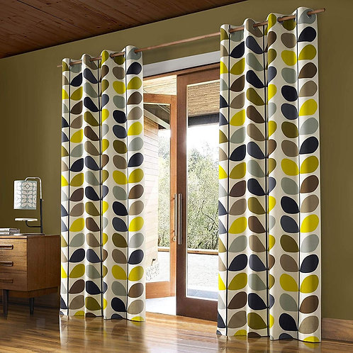 Orla Kiely multi stem curtain