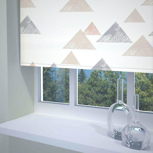 Textured Triangle Roller Blinds