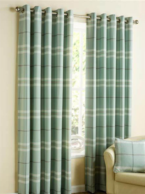 Lomond Check Curtains