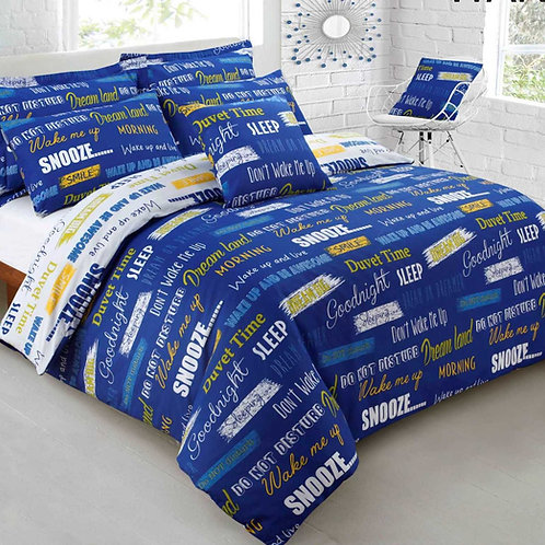 Wake Me Up Duvet Set