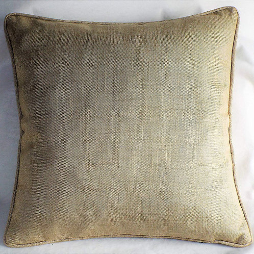 "Enhanced Living Essence Cushion Cover - Natural - 17""/43cm  by Enhanced Living"